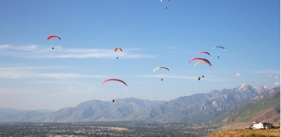 Draper Utah Paragliding