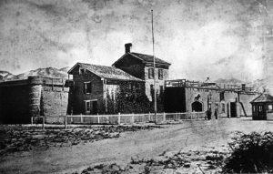 historic utah state prison near draper ut
