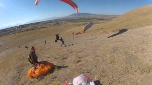 paraglyding lessons draper_ut point of the mountain