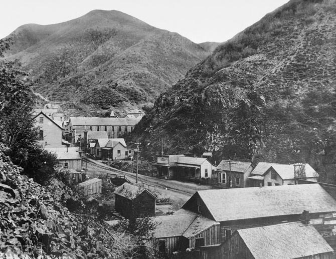 Bingham Canyon Utah 1914