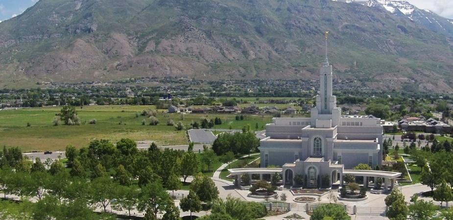 Mapleton Utah Temple