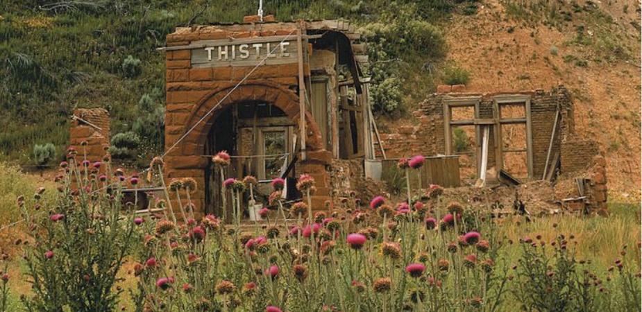 Thistle Utah Ghost Town