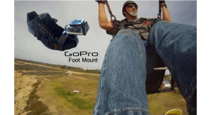 Specked Out GoPro Foot Mount