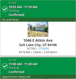1046 E Atkin Ave SLC Showing