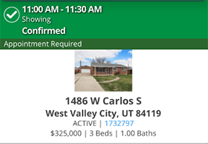 1486 W Carlos S West Valley City UT Showing