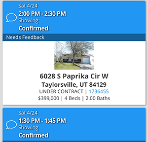 Showing Appointment 6028 S Paprika
