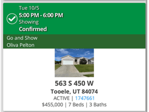 I showed my client this house for sale in Toole